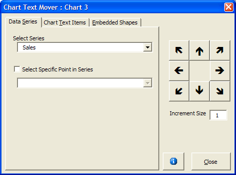 Vba section vba add in to move chart text items there is versions of the add in for powerpoint and excel ccuart Images